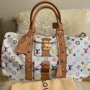 Louis Vuitton Bags - 🧳Louis Vuitton Multicolored Keepall 45🧳